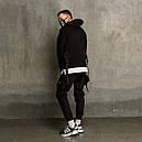 Штаны карго мужские черные бренд ТУР модель Вейдер (Vader), фото 8