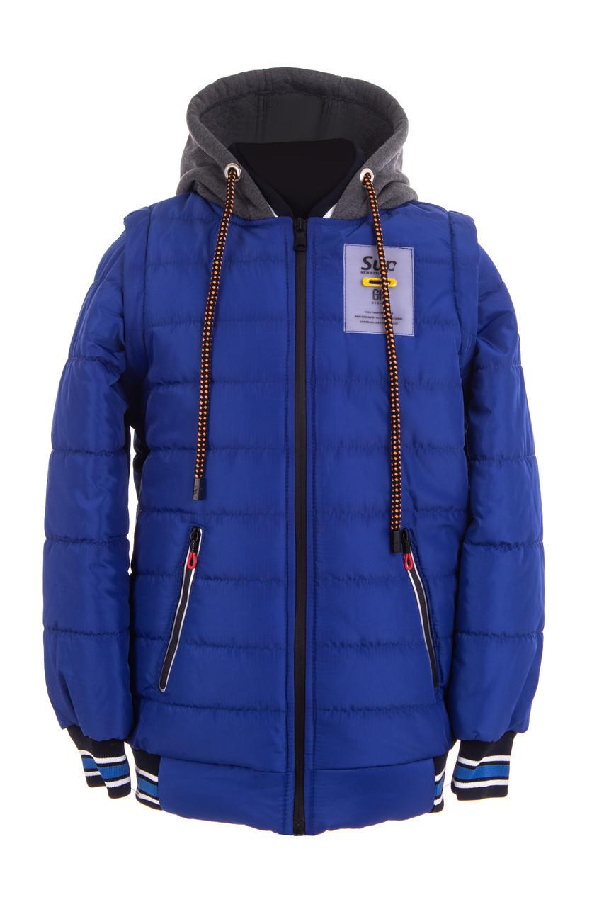 Куртки на мальчика демисезонные  интернет магазин  36-46 электрик