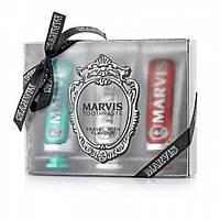 Подарочный набор зубных паст Marvis Toothpaste Travel Flavour Trio (Италия) 3 x 25ml