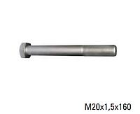 Болт рессорный металл RVI    под маслёнку  L=160 5010130738