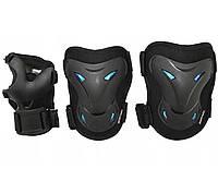Комплект защитный SportVida SV-KY0003-M Size M Black-Blue - 227701