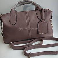 Мягкая и удобная кожаная сумочка отличного качества, фото 1