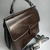 Красивая сумка из натуральной высококачественной воловьей кожи, фото 1