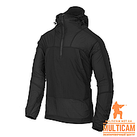 Куртка анорак Helikon-Tex® WINDRUNNER® Windshirt - WindPack® Nylon® - Black, фото 1