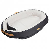 Кокон для сну Voksi Baby Nest Premium Solid Dark Grey (серый)
