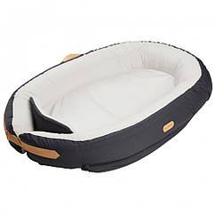 Кокон для сну Voksi Baby Nest Premium Solid Dark Grey (серый)