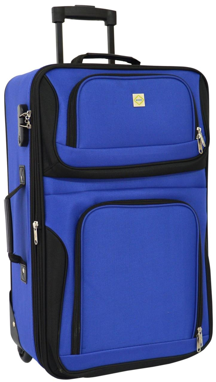 Дорожный чемодан на колесах Bonro Best средний