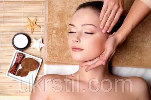 Косметологический массаж лица и шеи.