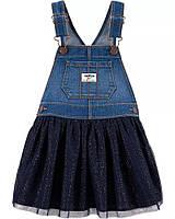 Детский джинсовый сарафан с пышной юбкой ОшКош для девочки