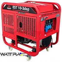 ⭐ Генератор дизельный 10 кВт Vitals Master EST 10-3dap электрический стартер, 380 В