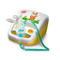 Компактный компрессорный ингалятор для детей и взрослых (желтый) LD-212C