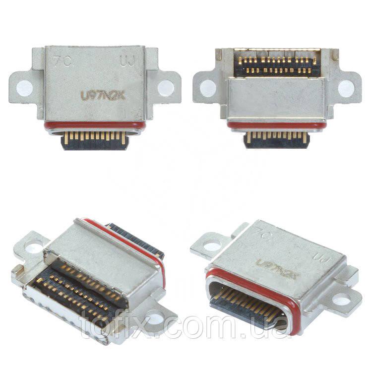Коннектор зарядки дляSamsung G970 Galaxy S10e, G973, G975, USB тип-C, #3722-004150