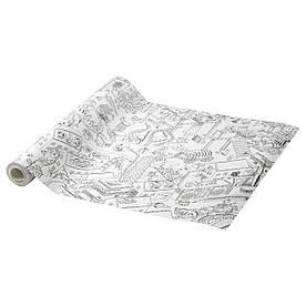IKEA Рулон паперу для розфарбовування LUSTIGT (403.853.93)