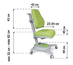Комплект Evo-kids Evo-40 G Grey (арт. Evo-40 G + кресло Y-110 KS) /(стол+ящик+полка+кресло)/ белая столешница,, фото 3