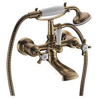 Смеситель для ванны двухвентильный, Imprese CUTHNA antiqua  бронза 10280 antiqua-n