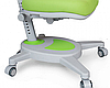 Комплект Evo-kids Evo-40 G Grey (арт. Evo-40 G + кресло Y-110 KS) /(стол+ящик+полка+кресло)/ белая столешница,, фото 6