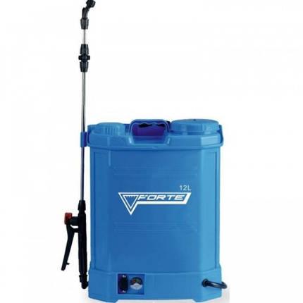 Опрыскиватель Forte аккумуляторный ( электрический ) 12 литров, фото 2