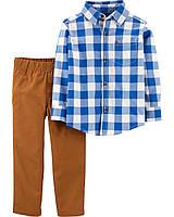 Клетчатая рубаха и рыжие брюки