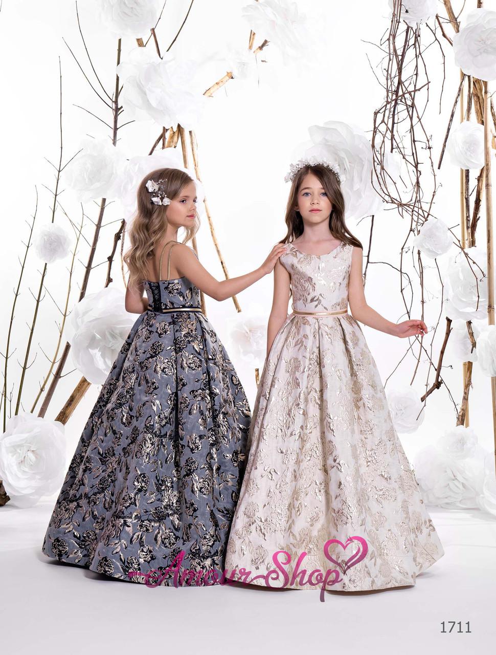 Детское нарядное платье на выпускной, конкурс красоты...
