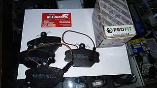 Колодки передние FIAT TEMPRA 90-96, TIPO 88-95, LANCIA DEDRA 89-99 пр-во PROFIT 5000-0524