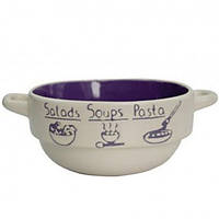 Бульонница Milika Soup Party Purple 680 мл M04100-320А