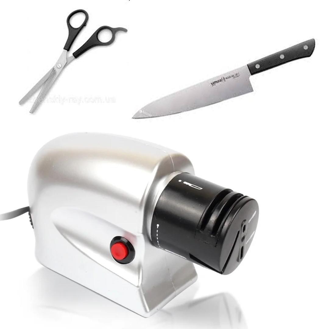 Электро точилка для ножей Восток Стиль! (настольная точилка для ножей)
