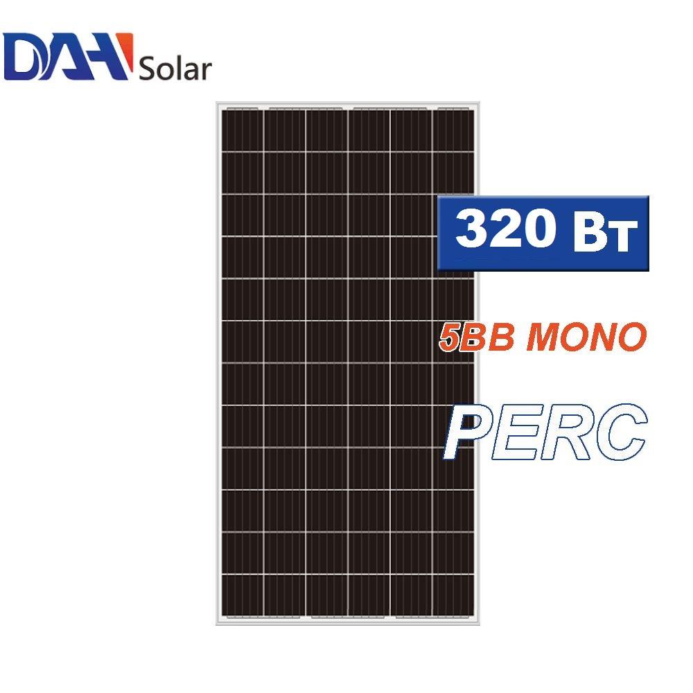 Сонячна панель DAH Solar DHM60X, монокристал, потужність 320 Вт, 5 ВВ, 60 CELL