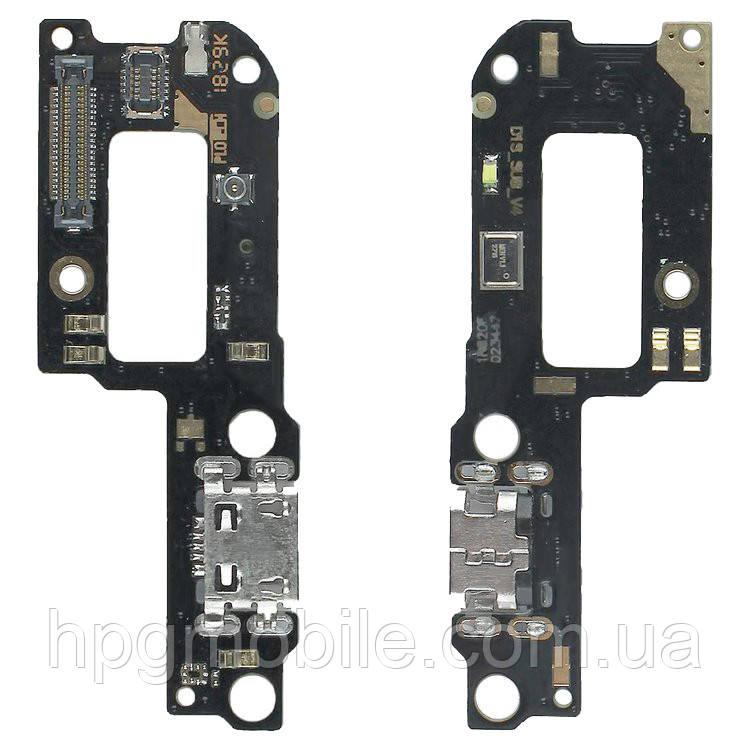Шлейф для Xiaomi Mi A2 Lite, Redmi 6 Pro, коннектора зарядки, с микрофоном, плата зарядки, оригинал
