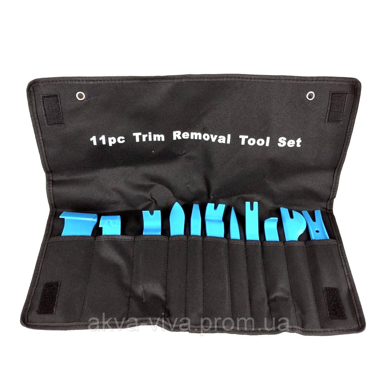 Инструменты для снятия обшивки (облицовки) авто (11 шт).