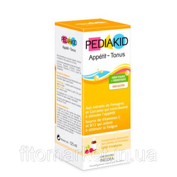 Сироп для восстановления аппетита и физического тонуса ТМ PEDIAKID, 125 мл