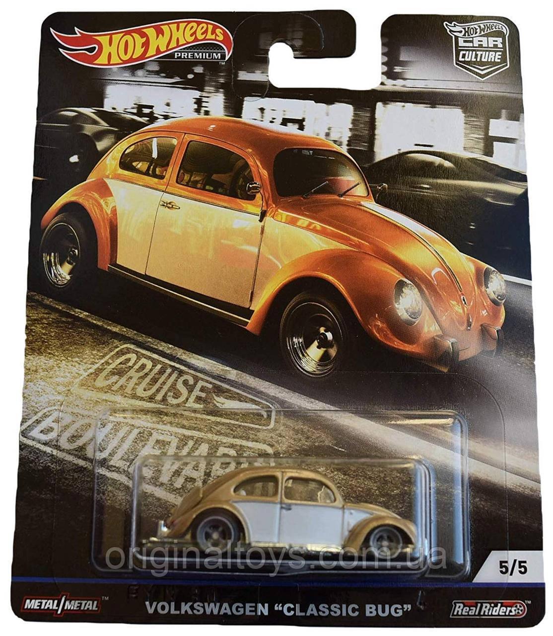Коллекционная  модель Hot Wheels Volkswagen Classic Bug