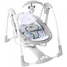 Кресло - качель для малыша  Bright Starts 12055  Слоник