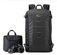 """Фото рюкзак универсальный Lowepro Matrix + BP 23L с отделом под ноутбук 15,6"""", черный ( код: IBF036B ), фото 1"""