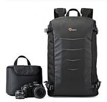 """Фото рюкзак универсальный Lowepro Matrix + BP 23L с отделом под ноутбук 15,6"""", черный ( код: IBF036B )"""