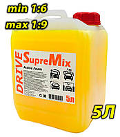 Безконтактний автошампунь SupreMix Drive 1:9 5 л, фото 1