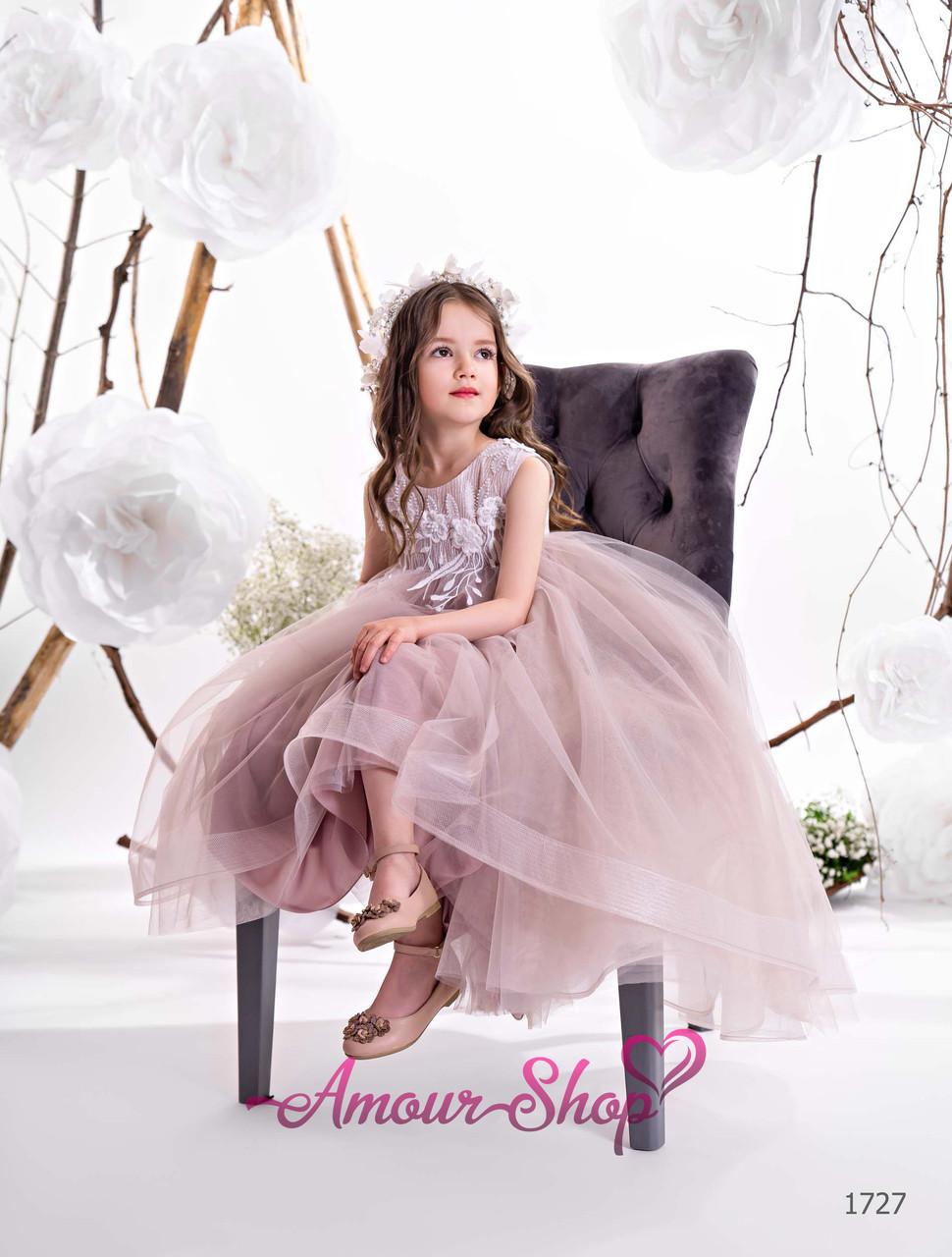 Стильне дитяче ошатне плаття