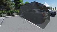 Каркасный тент (чехол) для автомобиля. Портативный мини гараж в вашем распоряжении!