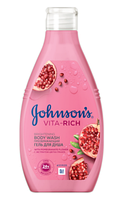 Гель для душа Johnson's Body Care Vita Rich Преображающий с экстрактом цветов граната 250 мл