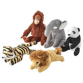 IKEA  мягкие игрушки DJUNGELSKOG ( 604.028.10)