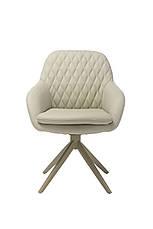 Кресло поворотное R-85 светло-серый, фото 2