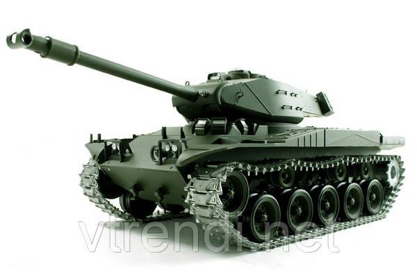 Танк Heng Long Bulldog M41A3 на радиоуправлении, масштаб 1к16 с пневмопушкой и и/к боем SKL17-223434