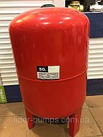 Бак расширительный для систем  отопления 50 л. круглый LIDER PUMPS