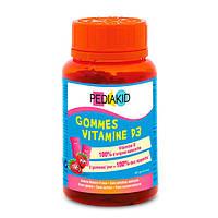 Медвежуйки Витамин D3 ТМ PEDIAKID, №60