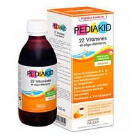Сироп для здорового развития с витаминами и олигоэлементами  ТМ PEDIAKID, 250 мл