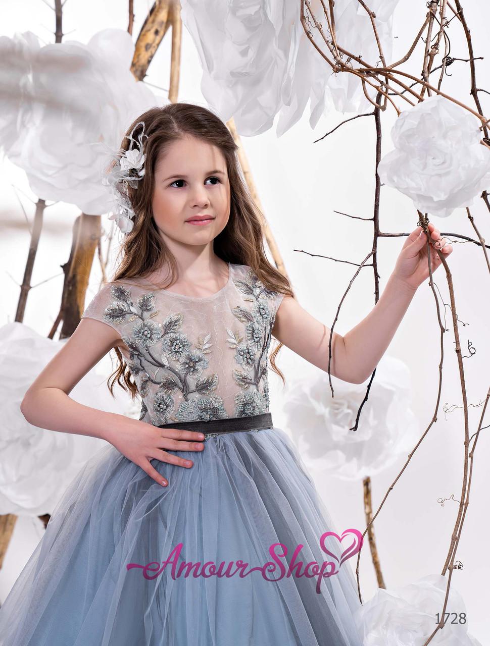 Детское нежное  нарядное платье