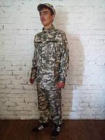 Форма камуфляжна підліткова для військово-патріотичних гуртків (штани, куртка, кепка). АКЦІЯ -25% до