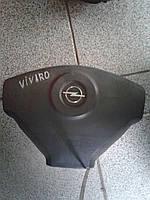 Подушка безопасности водительская (AirBag) Opel Vivaro (2000-2014)  8200136332