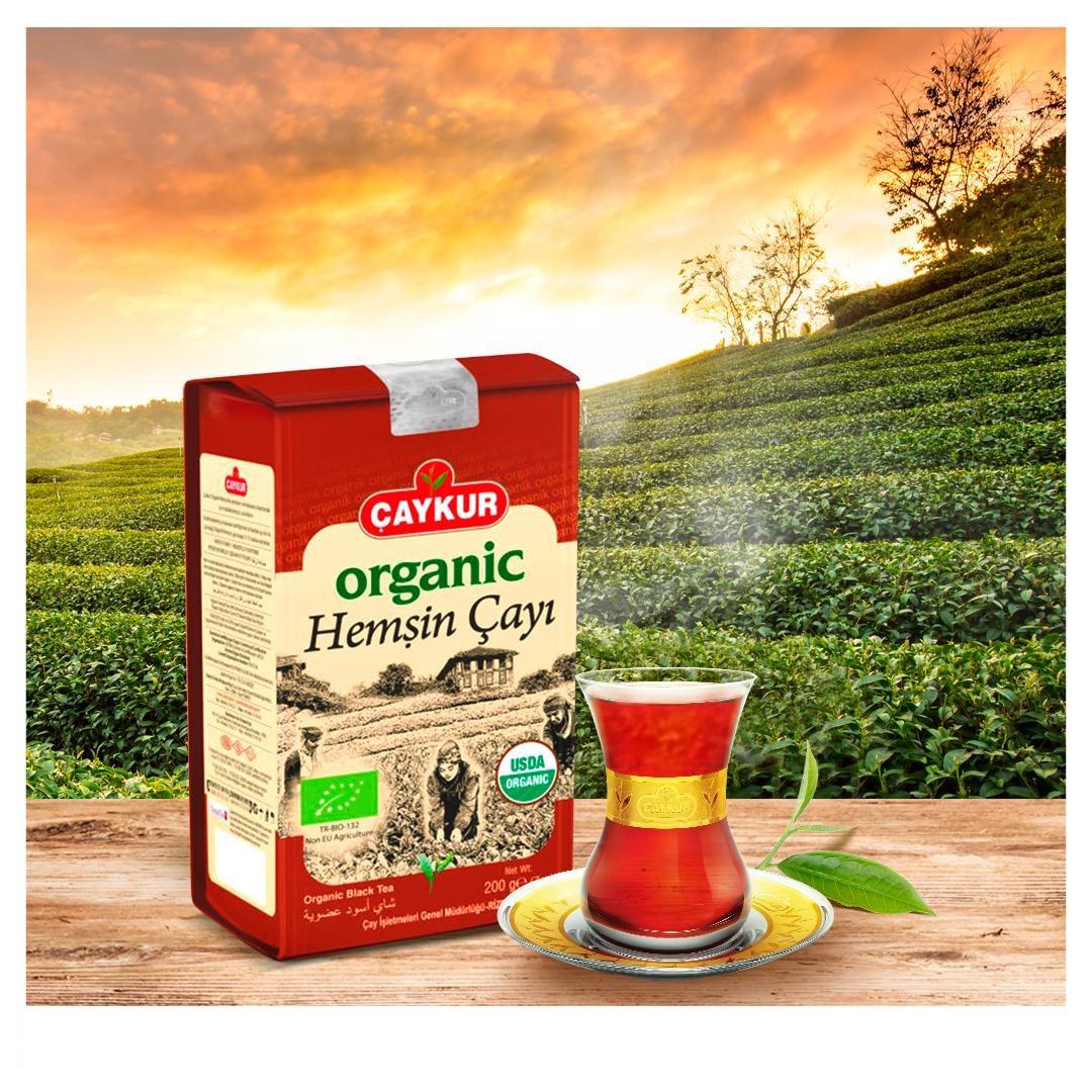 Турецкий чай Caykur Organik Hemsin 400 г