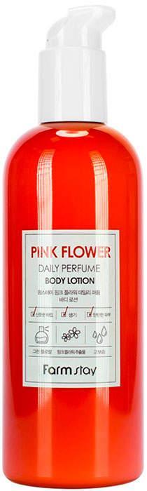Лосьйон для тіла з квітковими екстрактами FarmStay Pink Flower Daily Perfume Body lotion