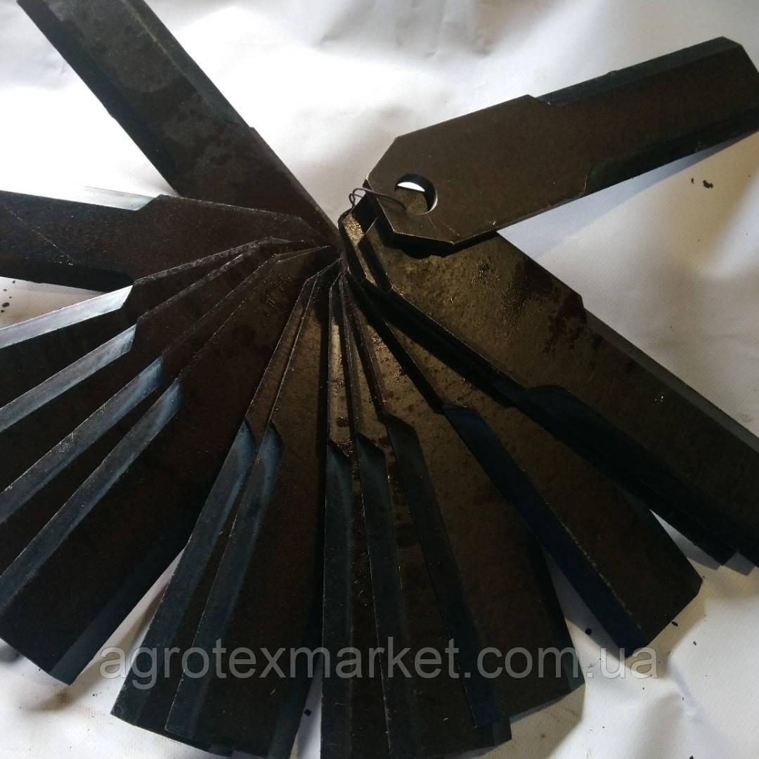 Ніж жниварки КМС зі сталі 65Г термопокращенні